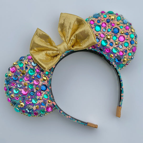Golden Anniversary Bling Ears - 50th Anniversary