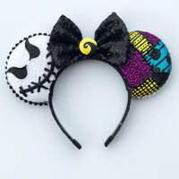 Nightmare Couple Mouse Ears