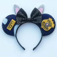 Rabbit Officer Mouse Ears