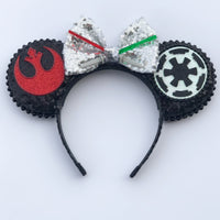 Dark side v. Light side mouse ears