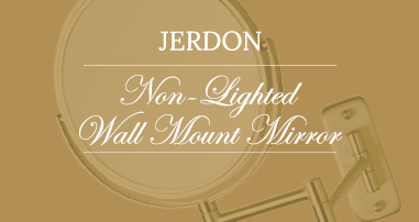 Jerdon Non-Lighted Wall Mount Mirrors