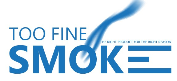 Image of the Too Fine Smoke Logo