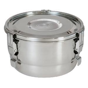 Image depicting the Cvault stainless steel herb and food container