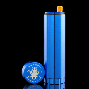 Image of Blue Kraken Aluminum Dugout with lid