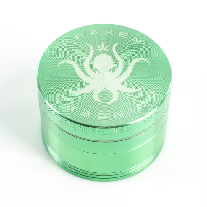 Image of a 4-Piece Grinder by Kraken Green