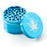 Image of a 4-Piece Grinder by Kraken Light Blue