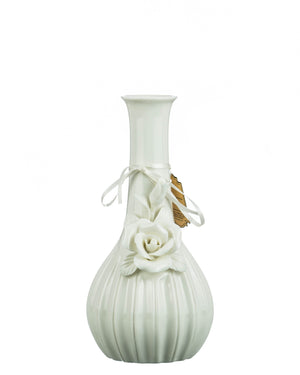 "White ""Rose"" Water Pipe"