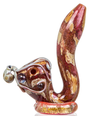 Octopus Themed Glass Sherlock Pipe