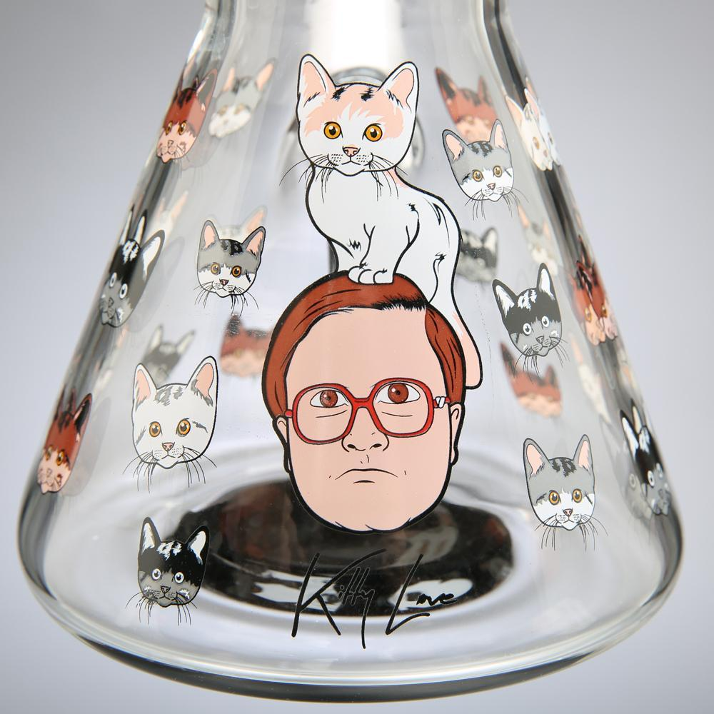 "Trailer Park Boys ""Kitty Love"" 12"" Water Pipe"
