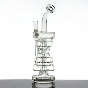 "12"" 'Double Stack Sunday Cup' Sundae Inspired Rig by Glassheads"