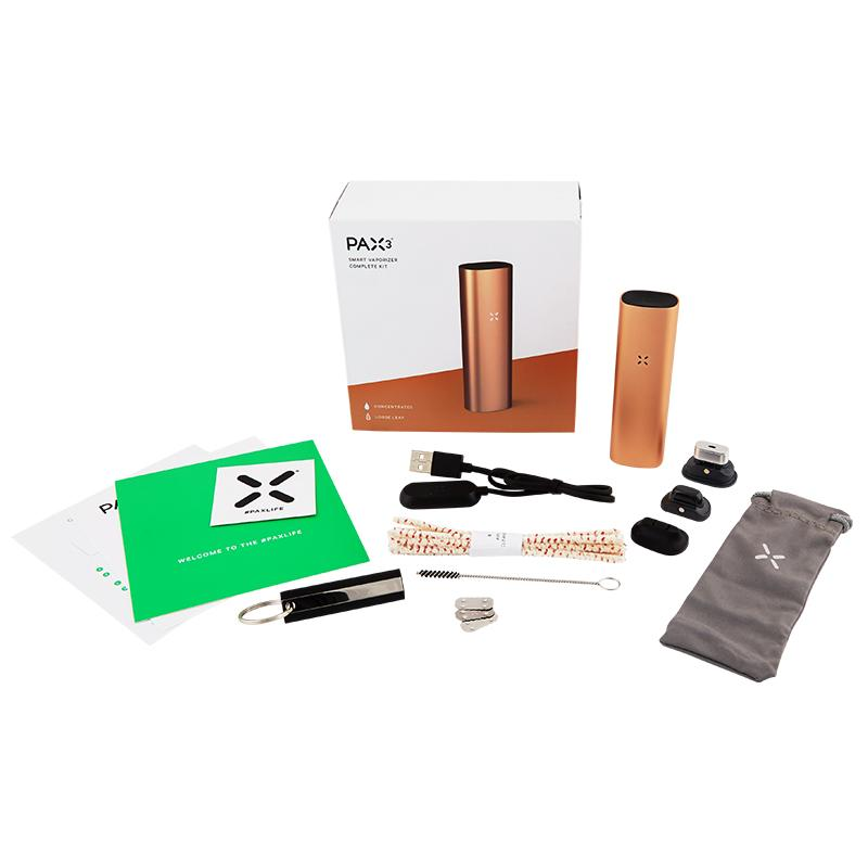 PAX 3 Vaporizer With Either Basic or Complete Kit