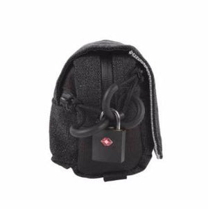 Image of a Locked Ryot Piper Smell-Safe carry bag Black