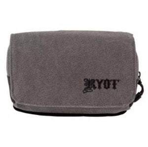Image of the Front of a Ryot Piper Smell-Safe carry bag Gray