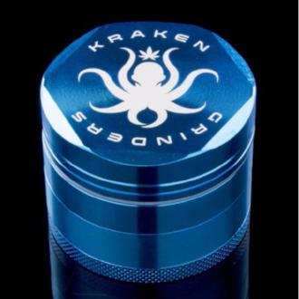 "Kraken 2.5"" Hex Side 4-part Grinder, comes with pollen screen"