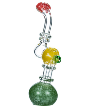 Multi-Color Fritted Bubbler w/ Front Carb