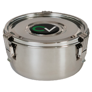 Image showing Large Stainless Steel CVault container