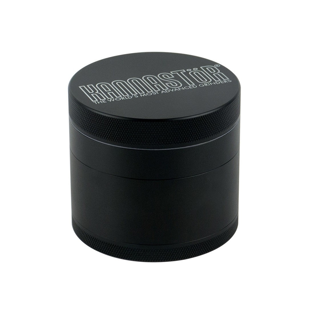 "2.5""  4pc Grinder in Black by Kannastör®- Lifetime Warranty"