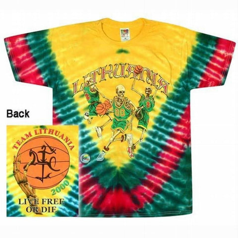 Grateful Dead - Team Lithuania Live Free T-Shirt