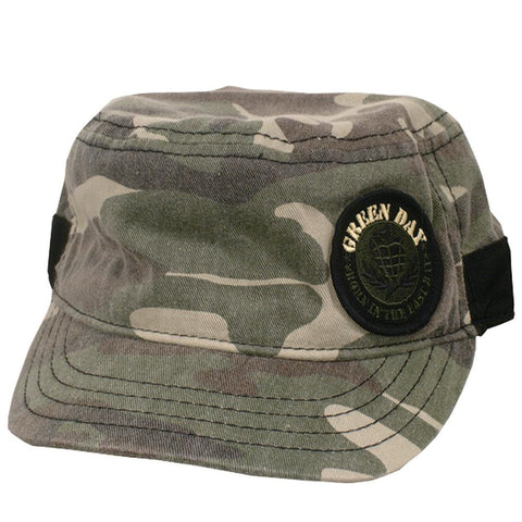 Green Day - Camo Cadet Cap
