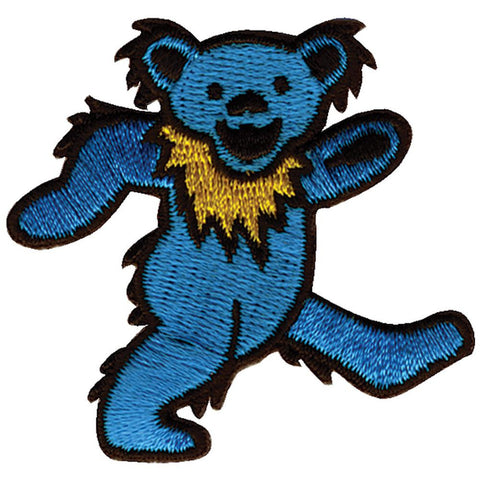 Grateful Dead - Blue Dancing Bear Small Patch