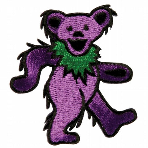 Grateful Dead - Purple Dancing Bear Small Patch