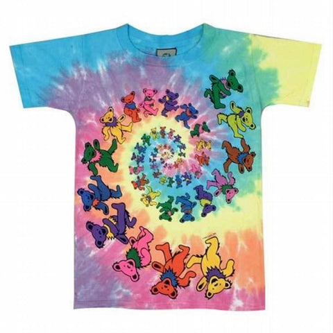 Grateful Dead - Spiral Bears Youth T-Shirt
