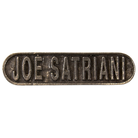 Joe Satriani - Logo - Pin