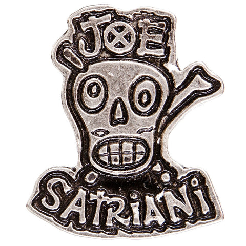 Joe Satriani - Skull & Crossbones - Pin