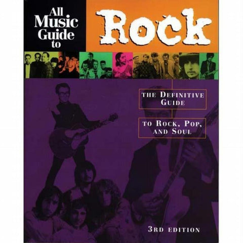 All Music Guide To Rock - Book