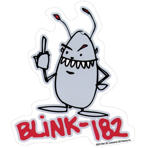 Blink 182 - Middle Finger - Sticker