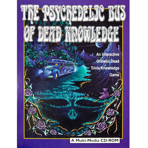 Grateful Dead-Psychedelic Bus..CD-ROM Game