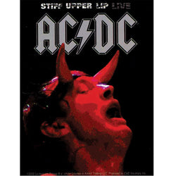 AC/DC - Stiff Upper Lip Live - Decal