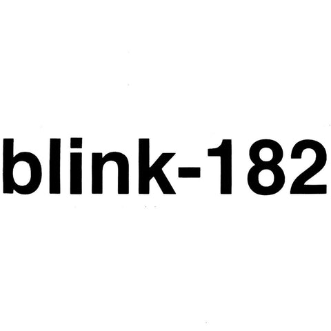 Blink 182 - Logo Cutout Sticker