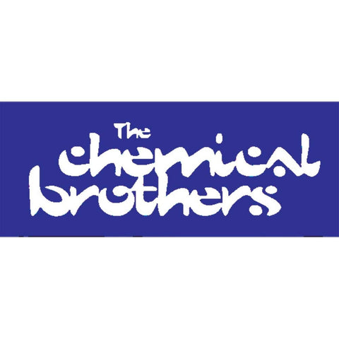 Chemical Brothers - Logo Sticker 2.5 x 6.5