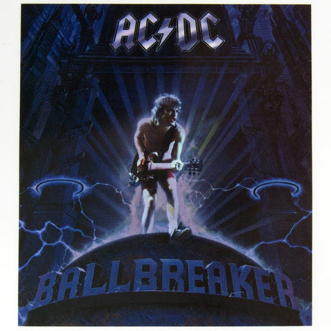 AC/DC - Ballbreaker - Cling-On Sticker