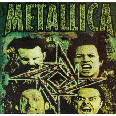 Metallica - Four Faces - Cling-On Sticker