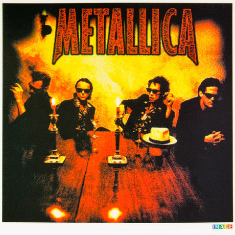 Metallica - At The Table - Sticker