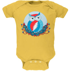 Grateful Dead - Steal Your Face Owl Butter Baby One Piece