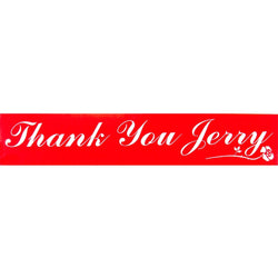 Grateful Dead - Thank You Jerry Decal