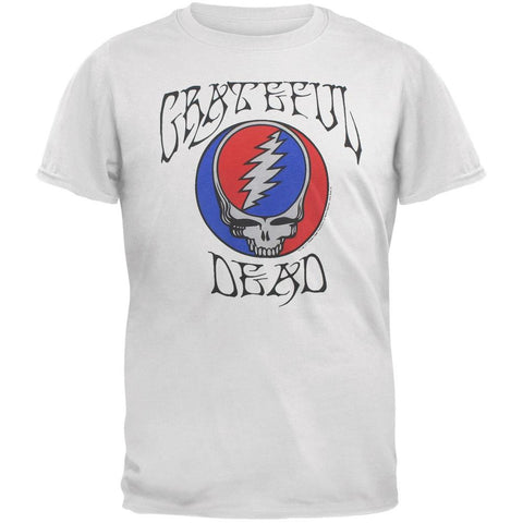 Grateful Dead - Logo and Steal Your Face Soft Adult T-Shirt