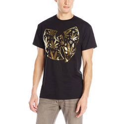 Wu-Tang Clan - Pot Leaf Clan Logo Adult T-Shirt