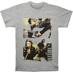 Nirvana - Photo Collage Adult T-Shirt