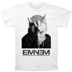 Eminem - Finger Horns Adult T-Shirt