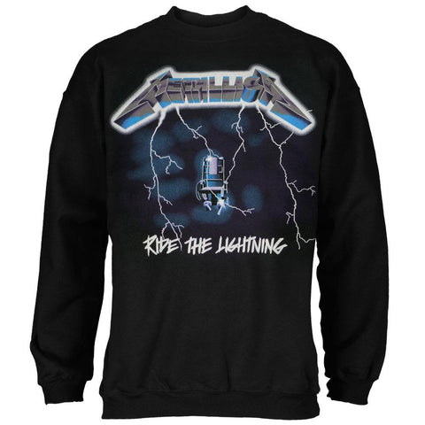 Metallica - Ride the Lightning Adult Crew Sweatshirt