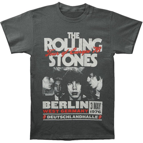 Rolling Stones - Europe 76 Adult T-Shirt