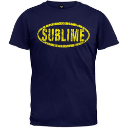 Sublime - Distressed Oval T-Shirt