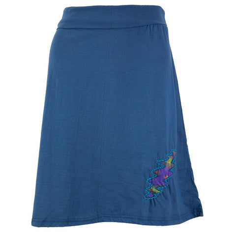 Grateful Dead - Lightning Bolt Womens Short Skirt