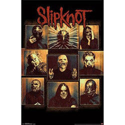 Slipknot - Bulletproof 22x34 Standard Wall Art Poster