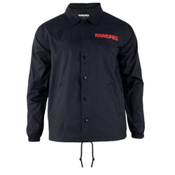 Ramones - Seal Logo Adult Coaches Jacket