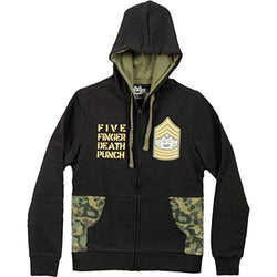 Five Finger Death Punch - Knucklehead Camo Adult Zip-Up Hoodie